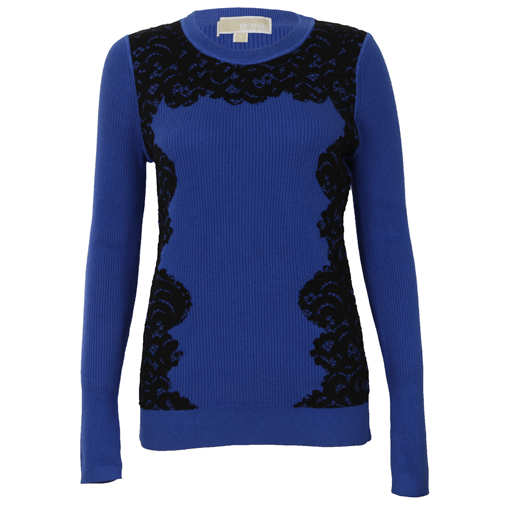 Lace Front Crew Jumper main image