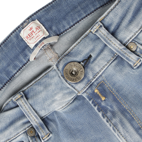 Replay Womens Blue Hyperflex Skinny Jean main image