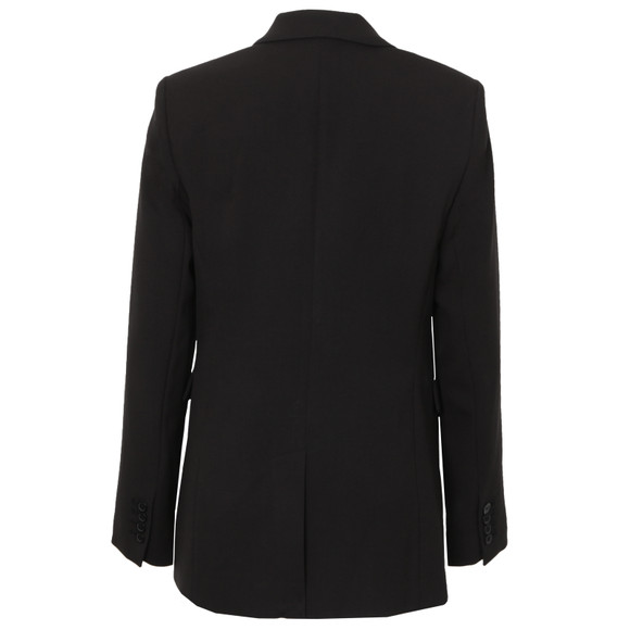 Michael Kors Womens Black Studded Tux Blazer main image