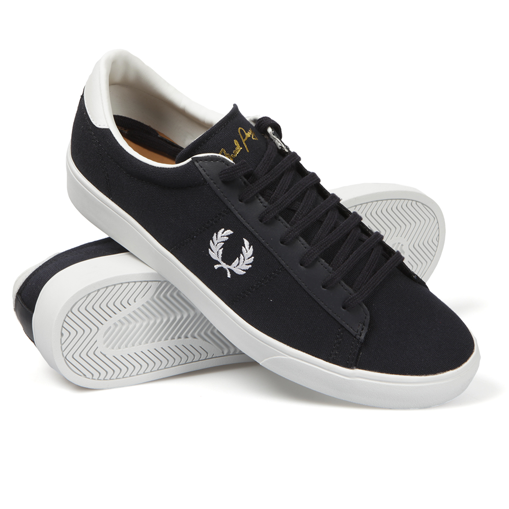 Mens Fred Perry Canvas Shoes