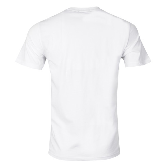Fred Perry Mens White Crew Neck T-Shirt main image