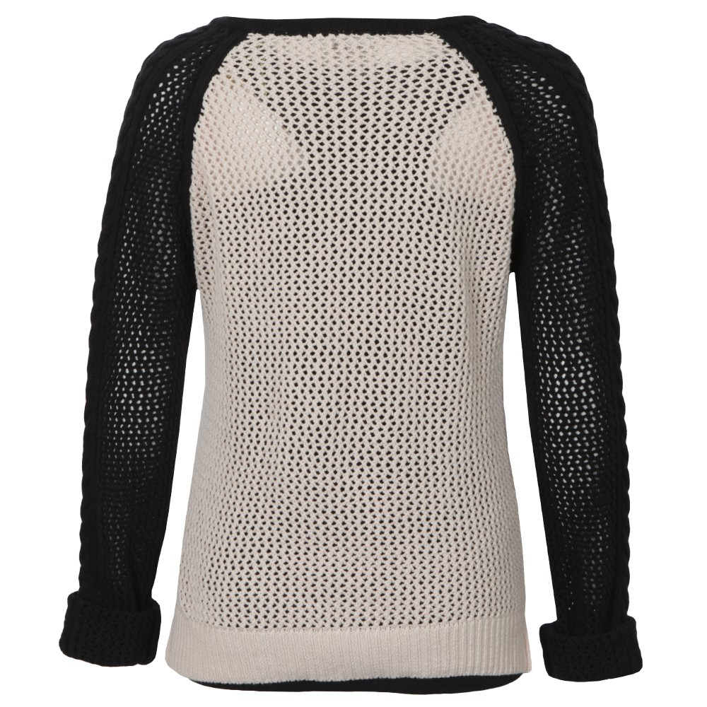 Mesh Knitted Sweater With Tank main image