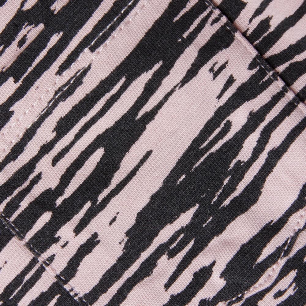 Zebra Printed 3/4 Sleeve T-Shirt main image