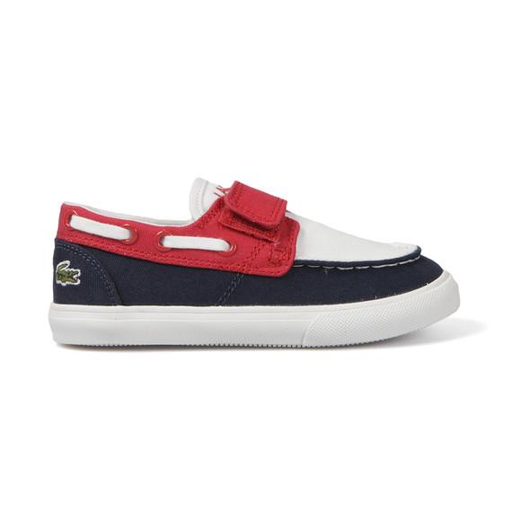 lacoste keel clc canvas boat shoe oxygen clothing