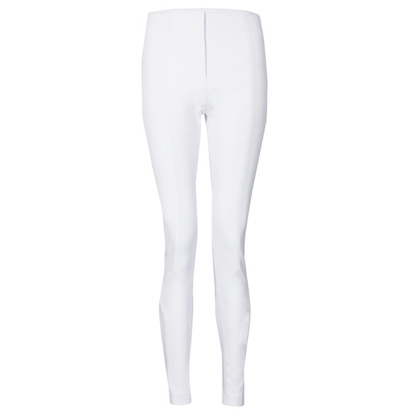 French Connection Womens White Edyta Stretch Skinny Trouser main image