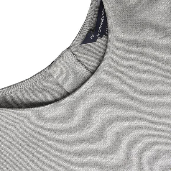 French Connection Womens Grey Jennifer Tux Sleeveless Dress main image