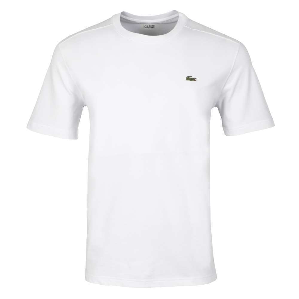 lacoste sport th7618 plain t shirt oxygen clothing. Black Bedroom Furniture Sets. Home Design Ideas