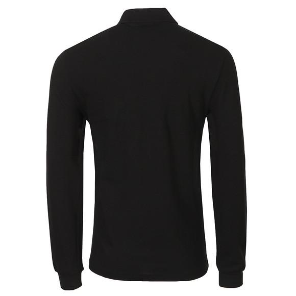 Lacoste Mens Black L1312 L/S Polo main image