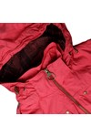Barbour International Womens Red Deauville Parka