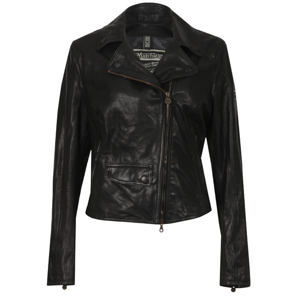Matchless Womens Black Scarlet Blouson main image