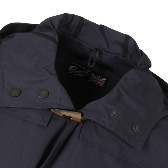 Gloverall Mens Blue Lightweight Mid Monty Duffle Coat main image