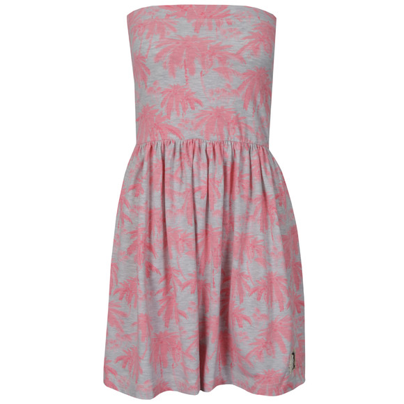 Superdry Womens Pink Palm Summer Dress main image