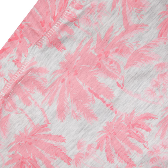 Superdry Womens Pink Palm Summer Dress main image