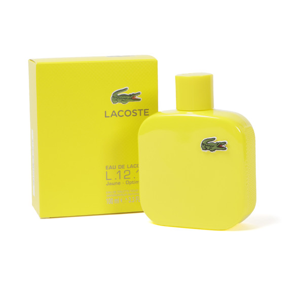 Lacoste Mens Yellow Lacoste L.12.12 Polo EDT main image