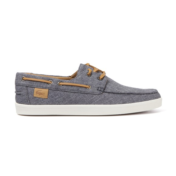 lacoste keellson 5 canvas boat shoes oxygen clothing