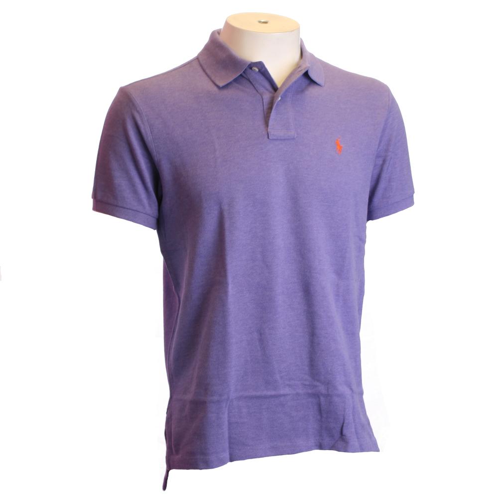 Ralph Lauren Maidstone Purple Custom Fit Polo Shirt