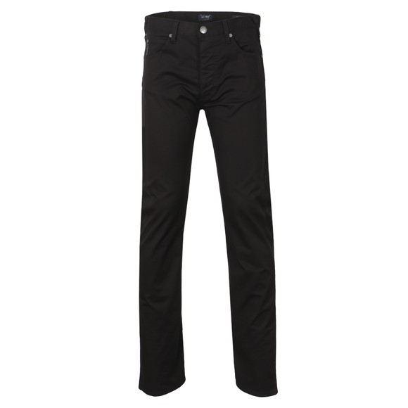 Armani Jeans Mens Black J21 Regular Fit Jean main image