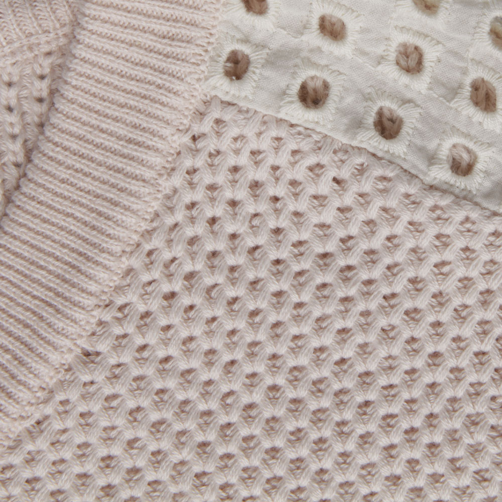 Summer Knit With Eyelet main image