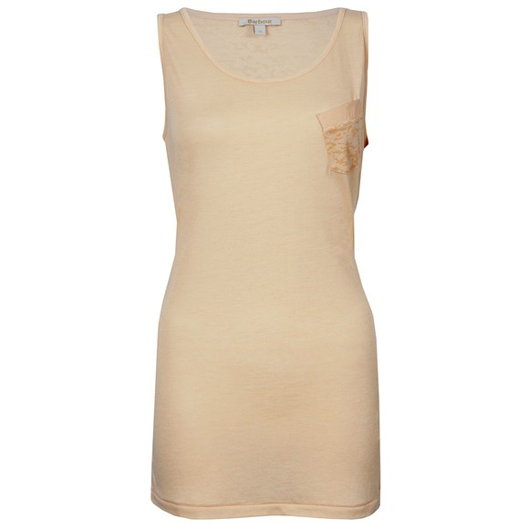 Barbour Heritage Womens Pink Saxon Vest main image