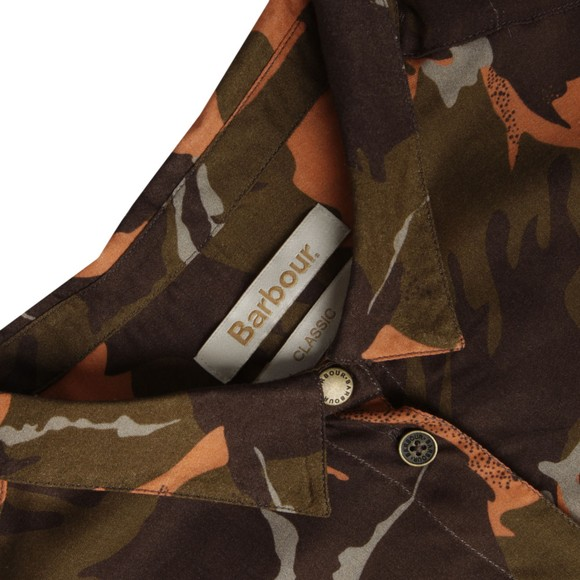 Barbour Heritage Womens Brown Cromwell Camo Shirt main image