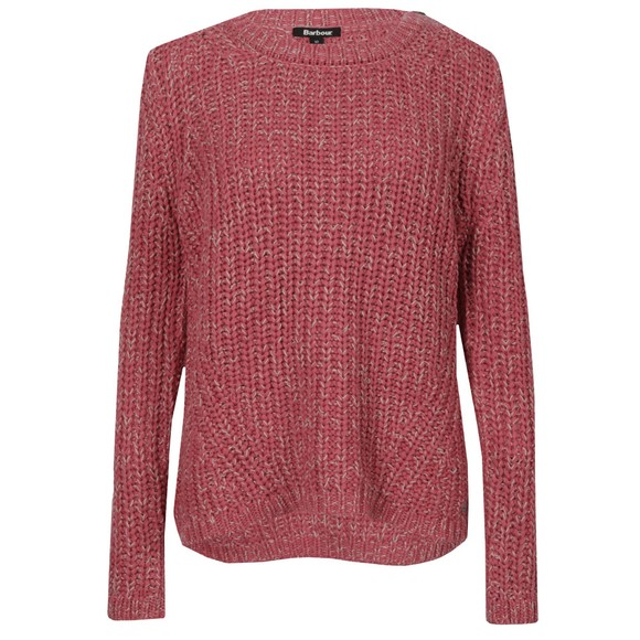 Barbour Heritage Womens Pink Rogan Sweater main image