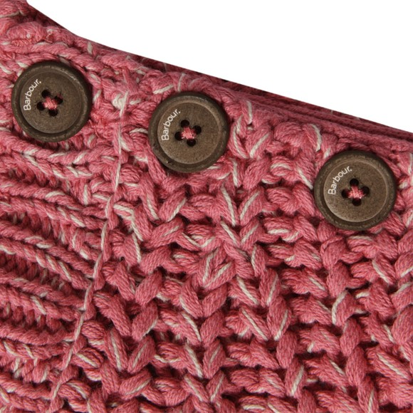 Barbour Heritage Womens Pink Rogan Sweater main image