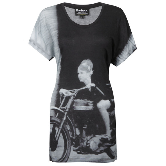 Barbour International Womens Black Sprint T Shirt main image