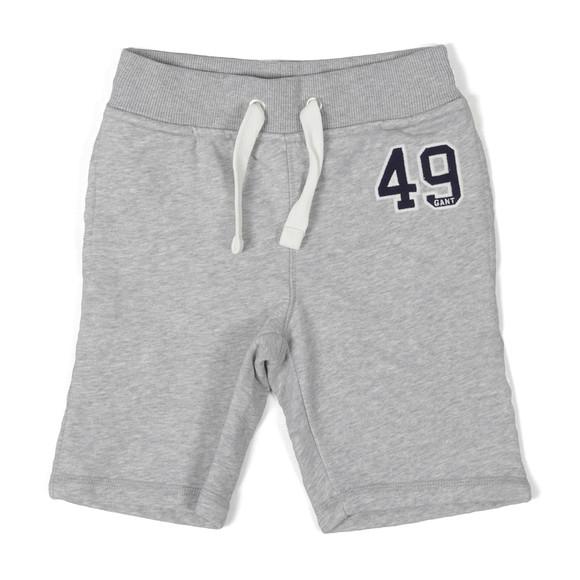 Gant Boys Grey Logo Sweat Shorts main image