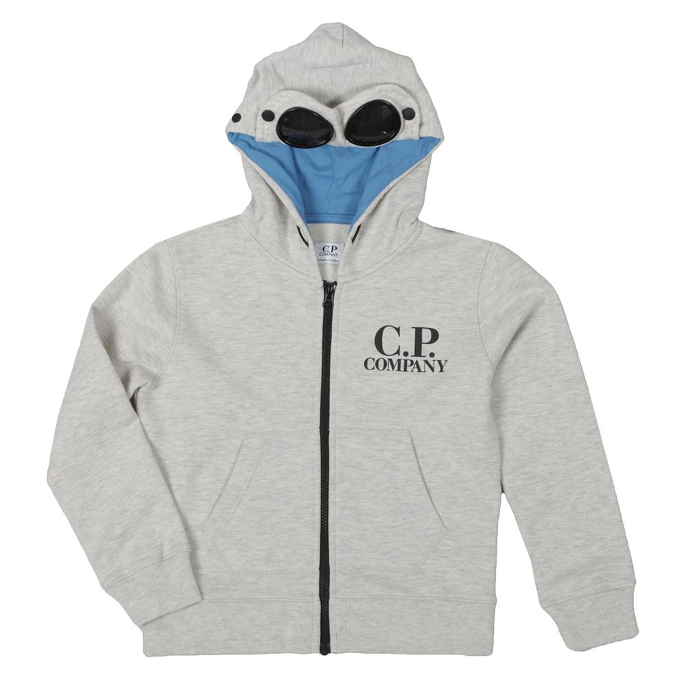 Cp Company Undersixteen Full Zip Goggle Hoody Oxygen