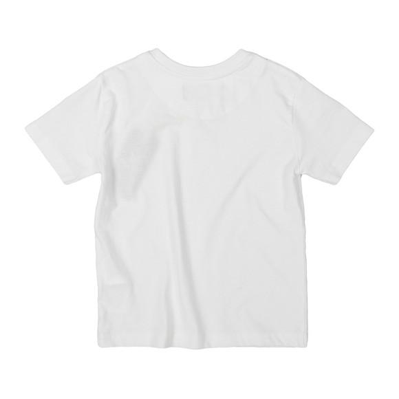 Lyle And Scott Junior Boys White Plain Crew T Shirt main image