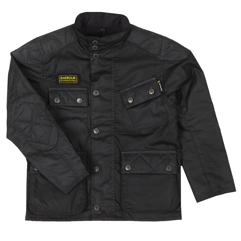 Boys Selkirk Wax Jacket main image