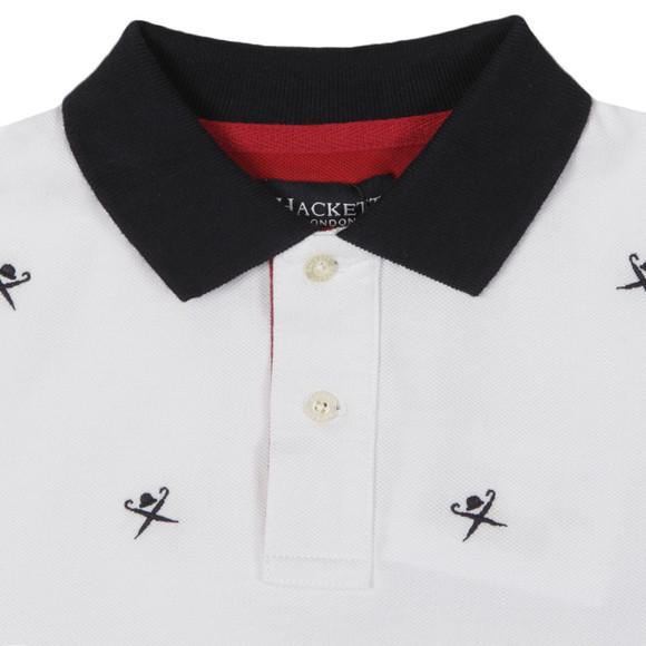 Hackett Boys White Hackett Boys Multi Logo Polo main image