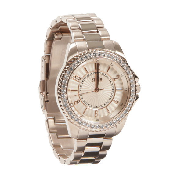 Storm Womens Pink Zirona Crystal Watch main image