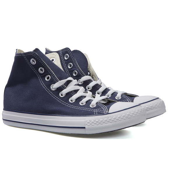 Converse Womens Blue All Star Hi Trainers main image