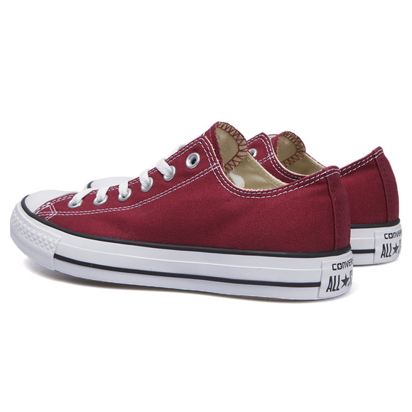 Converse Mens Red All Star OX Trainers main image
