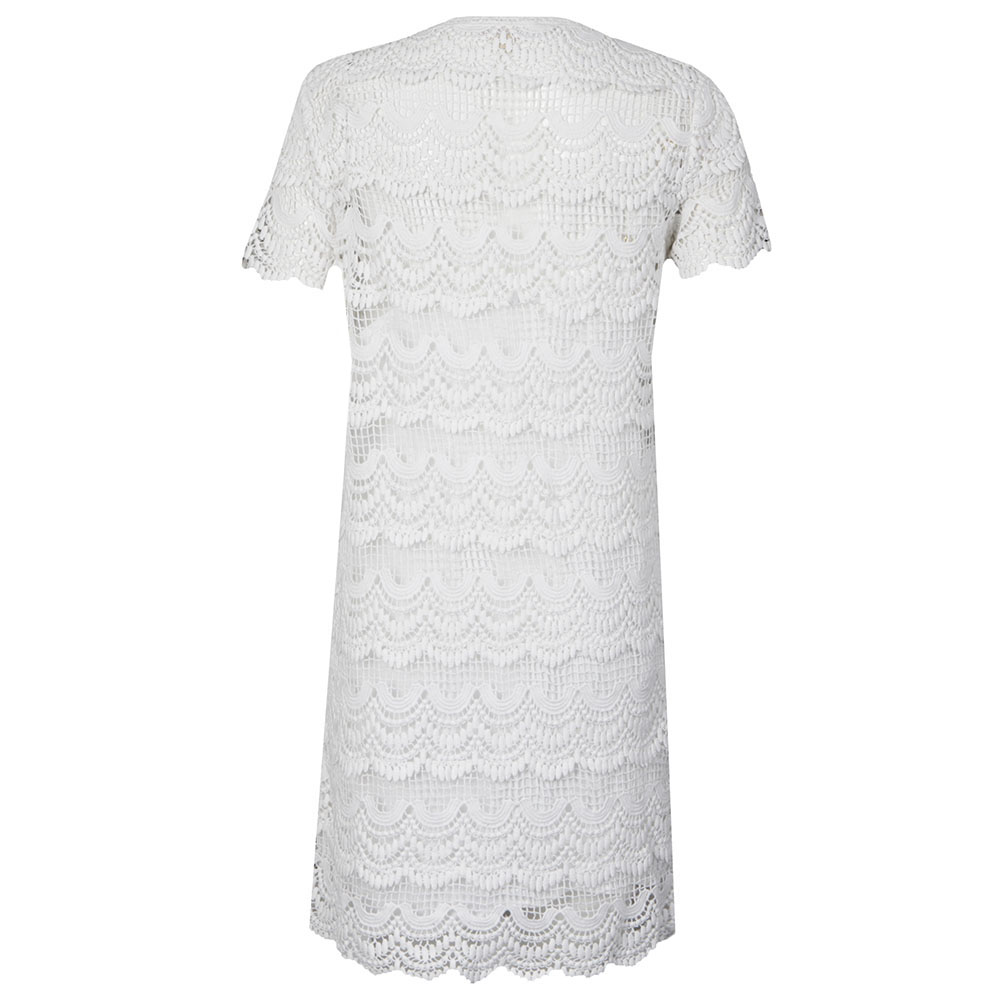 Short Sleeve Lace Dress main image