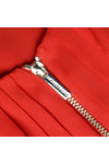 Michael Kors Womens Red Zip Top