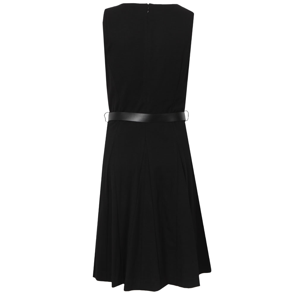 Sleeveless Flared Zip Dress main image
