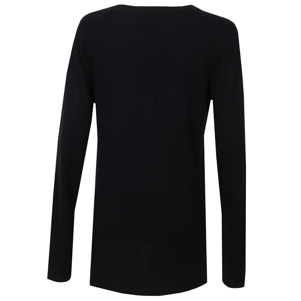 Snap Side V Neck Sweater main image