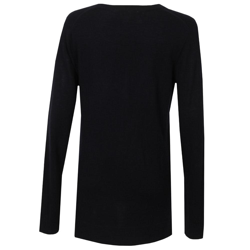 Snap Side V Neck Sweater main image
