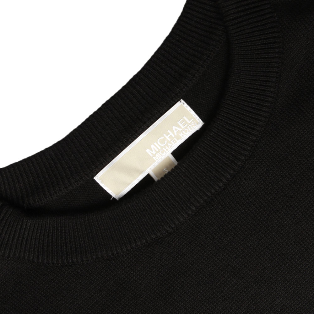 3/4 Sleeve Zip Leather Pocket Top  main image