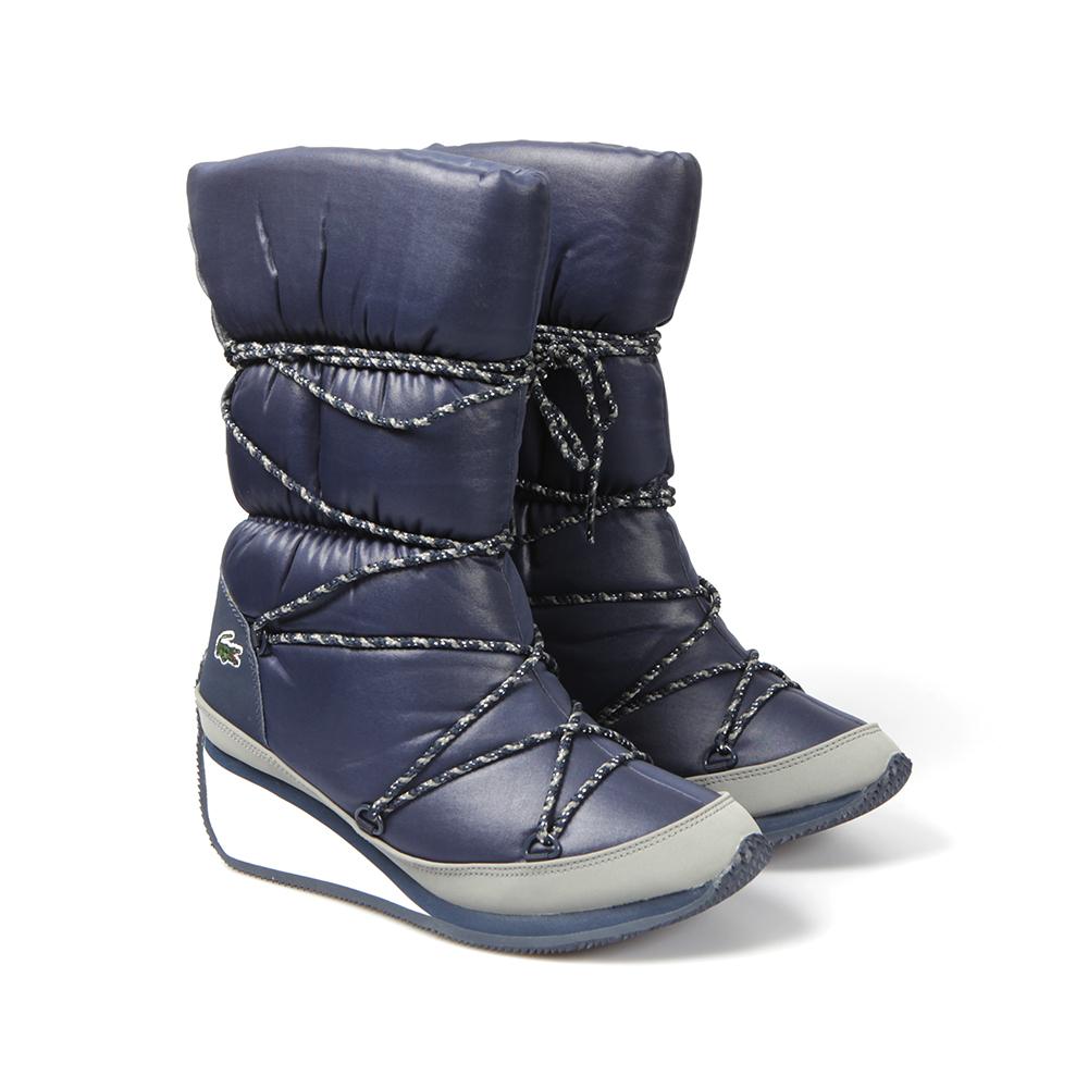 Lacoste bayan topuklu çizme modeli