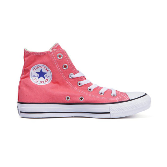 Converse Womens Pink All Star Seasonal Hi Trainers main image