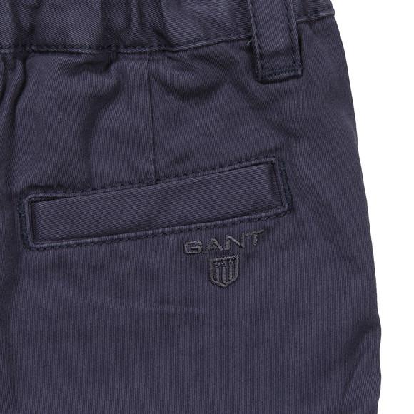 Gant Boys Blue Summer Chino Shorts main image