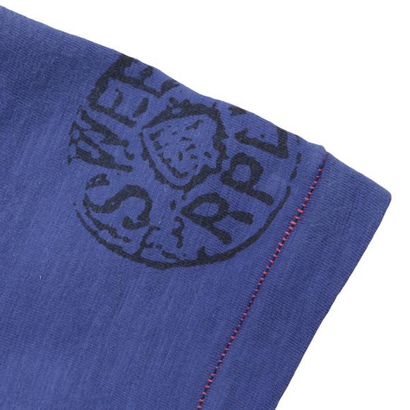 Replay Boys Blue Boys Large Logo T Shirt main image