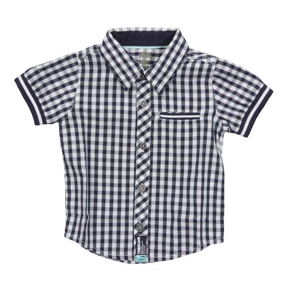 Timberland Boys Blue T05E81 Check Shirt main image