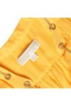 Michael Kors Womens Yellow Chain Neck Blouse