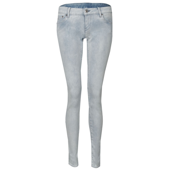 G-Star Womens Blue 3301 Super Skinny Jean main image