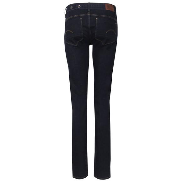 G-Star Womens Blue Midge Mid Straight Jean main image