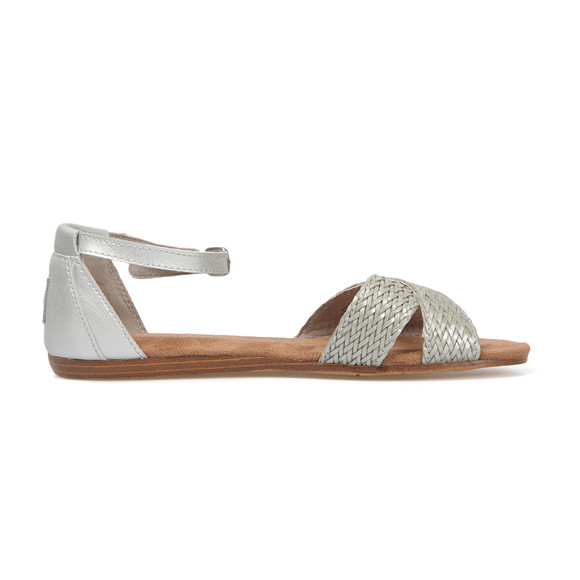 Toms Womens Silver Correa Sandal main image